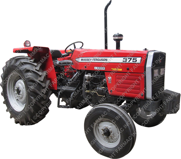 Massey Ferguson MF 375 2wd 75hp Tractor For Sale Middle East And