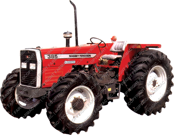 Massey Ferguson MF 385 4wd 85hp Tractor For Sale Middle East And